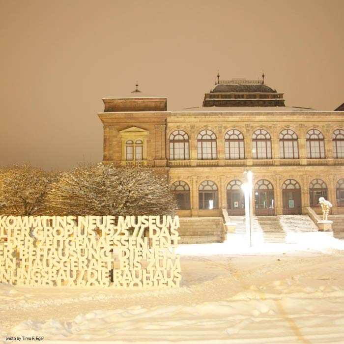 Neues Museum im Winter - by Timo F. Eger